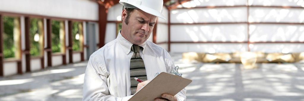 Évaluateur de prévention des risques sur chantier de construction