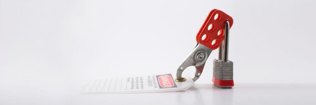 Prévention - Cadenassage sécuritaire - Affiche danger