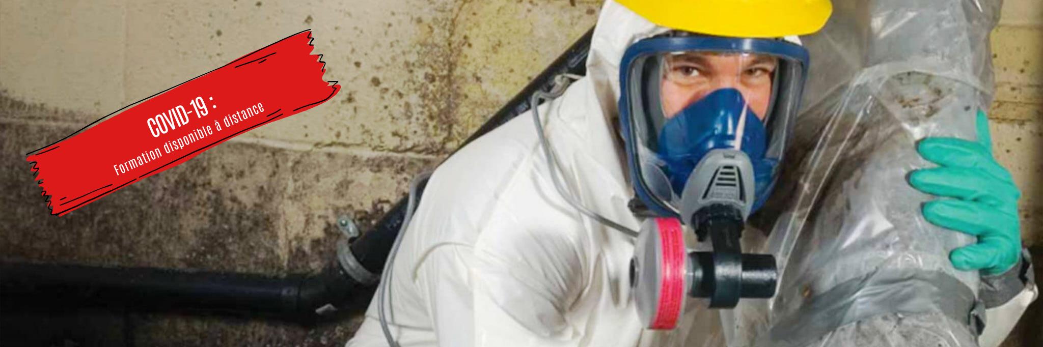 Travaux sécuritaires de décontamination ou de construction en présence d'amiante