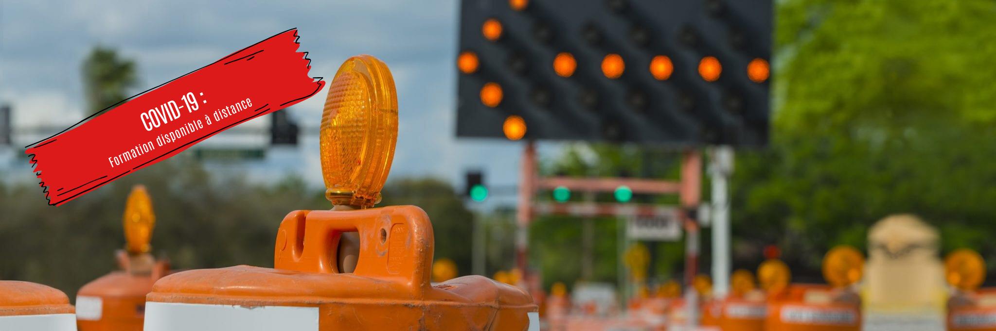 Formation en signalisation sur les chantiers de travaux routiers